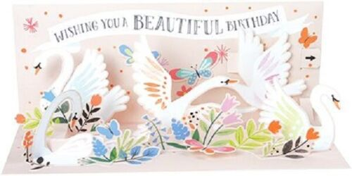 3D Pop-up Card  by Up With Paper Swans