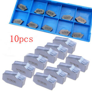 10Pcs-SP300-PC9030-ZQMX3N-Grooving-Cut-Off-Insert-Carbide-Inserts-3mm-Width-Case