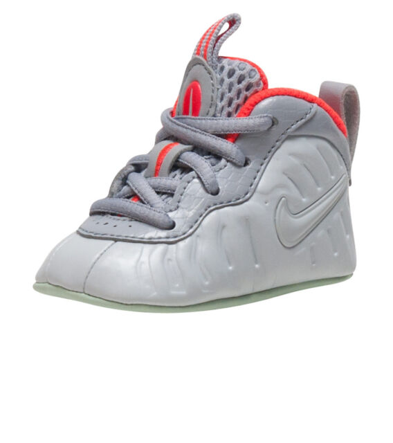 db7a43bb73e ... discount code for nike lil posite one pro pure platinum infants us size  1c style 53bc8