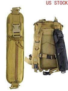 2pcs/set Tactical Backpack Accessory MOLLE Pouch Shoulder Strap Bag Tools Pouch
