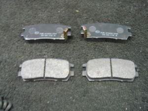 MITSUBISHI SHOGUN PININ BRAKE PADS FRONT /& REAR  BRAKE PADS NEW