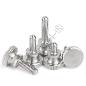 M3 M4 M3.5 Knurled Thumb High Nuts Hand Grip Knobs Aluminum For Model PC Case