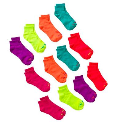 Avia Ladies Ankle Socks Assorted Size 9-11