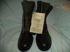 Tropical Combat Boots (jungle boots) Size 10N ,Viet Nam Era 1967  NOS