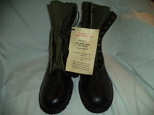 Tropical-Combat-Boots-jungle-boots-Size-10N-Viet-Nam-Era-1967-NOS