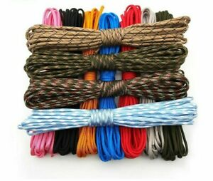 100FT-Climbing-Paracord-Cord-Lanyard-Rope-Hiking-Survival-Parachute-Lanyard-Tool