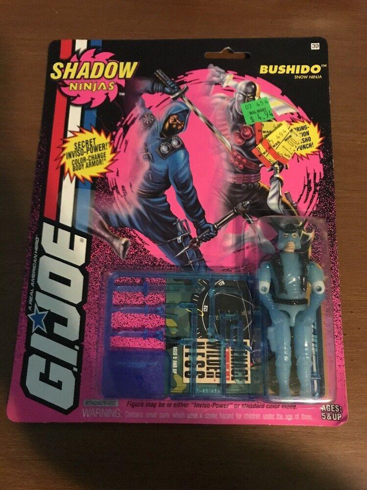 Hasbro spielzeug gi joe schatten ninjas bushido schnee ninja 1993 - figur