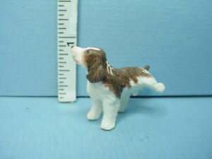 "Miniature Naughty Spaniel Dog  #A3040Br  Falcon 1//2/"" 1:24"