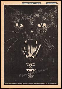 CATS-Orig-1977-Trade-print-AD-horror-promo-poster-BRUCE-COHN-ALLAN-BODOH