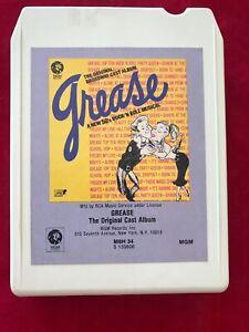 The Original Broadway Cast Album Grease Musical VINTAGE 8 TRACK TAPE