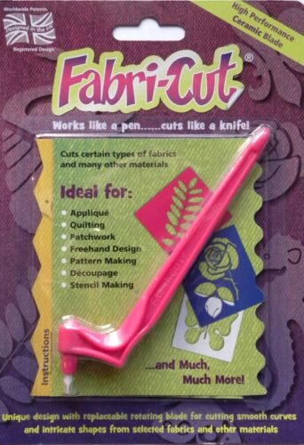 NEW FABRI-CUT TOOL Sewing Quilt applique quilting patchwork rotary Cutter fabric