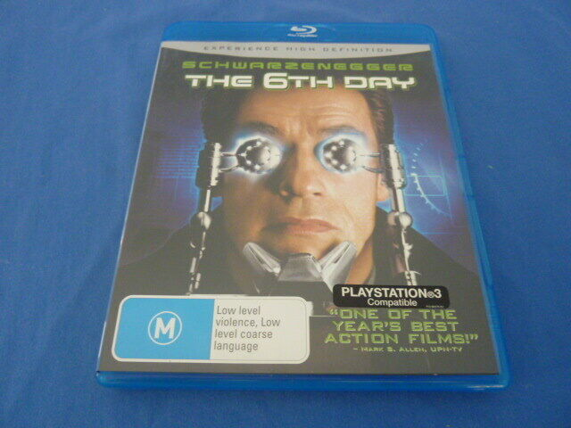 The 6th Day-  Arnold Schwarzenegger - Blu-Ray