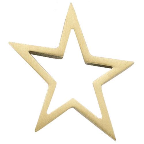 Remolque unisex estrella 585 oro dorado Matt oro colgante colgante Stern