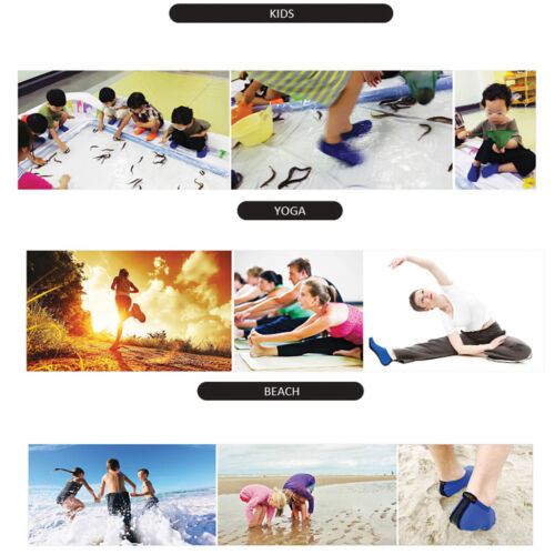 Sports Unisex Barefoot Water Skin Shoes Aqua Socks Beach Exercise Swim Surf