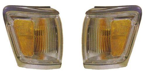 92 93 94 95 Toyota 4Runner Cornerlight Pair Set Both NEW Chrome Trim Cornerlamp