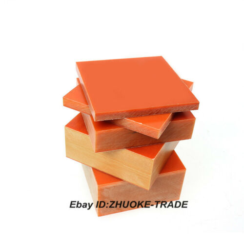 12mm Thick Bakelite Phenolic Sheet Flat Plate Insulation Board Relays Paper PCB
