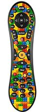 Lego Brick Sticker/Skin Virgin Tivo Remote controller/controll sticker vr1