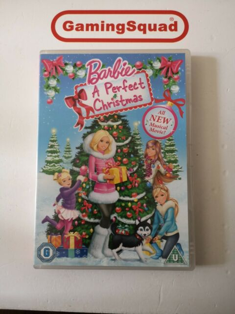 Barbie, A Perfect Christmas DVD, Supplied by Gaming Squad