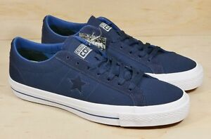 276cfcdb71cd Converse One Star Canvas Ox Low Blue White Mens Sz 11 Shoes 153708C ...