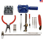 16Pcs Jewelry Repair Set Kit Watch Wristwatch Battery Changer Link Remover Tools