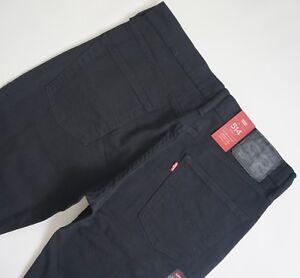 LEVI-039-S-514-BLACK-STRAIGHT-LEG-Jeans-Men-039-s-Authentic-BRAND-NEW-005140893