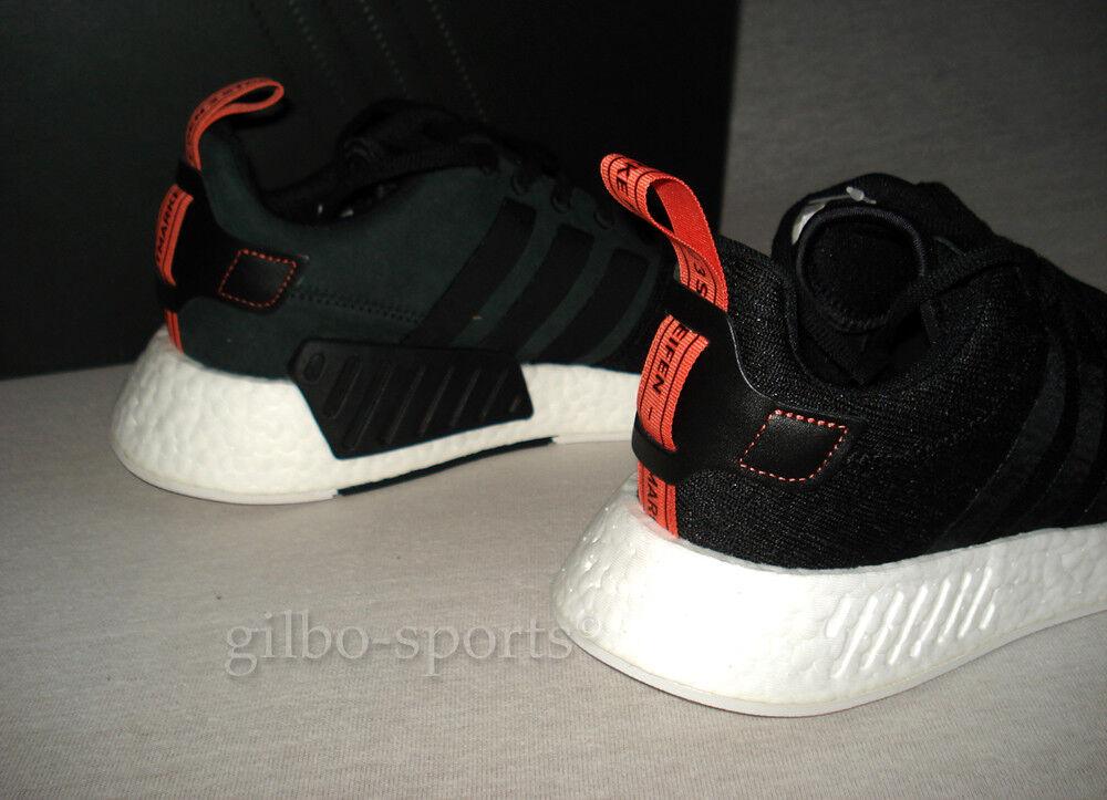 Adidas Originals NMD_R2 schwarz WEISS Gr. 42 2/3 44 Neu CG3384 R1