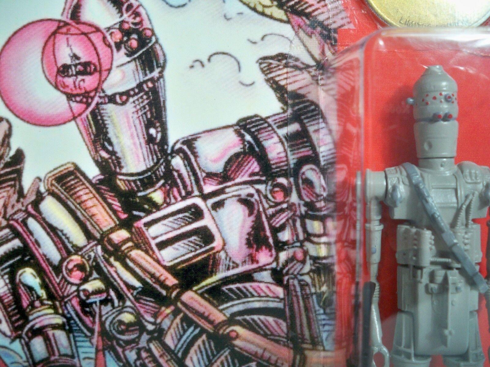 K1851714 IG-88 projootipo Personalizado Menta en tarjeta menta en tarjeta Droids dibujos animados 1985 Guerra De Las Galaxias