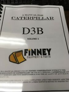 cat caterpillar d3b service manual senr7911 dozer crawler book rh ebay com cat 3204 parts manual cat 3204 repair manual pdf