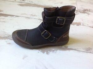 P30-Chaussures-Garcon-NOEL-NEUVES-Modele-VOOTS-Marron-fonce-101-50