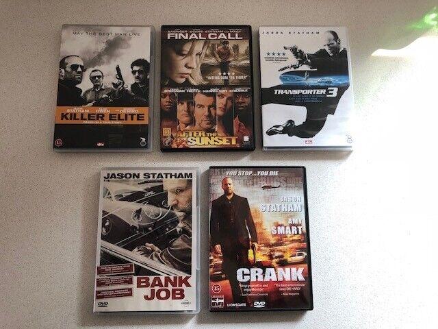 Jason Statham .- Hæsblæsende action - 5 film, DVD, action