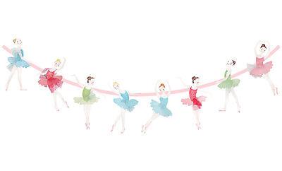 Birthday Ballet School Garlands Ballerina Bunting Baby shower Party Supplies