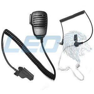 Police Radio Mic >> Speaker Mic and 3.5mm Listen Only Earpiece Motorola XTS3000 XTS2500 XTS5000 | eBay