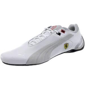 Future-PUMA-Cat-m2-weave-SF-senores-sneakers-blanco-plata-Ferrari-Edition-nuevo