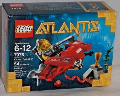Ocean Speeder Building Play Set 7976 NEW NIB Retired LEGO® Atlantis