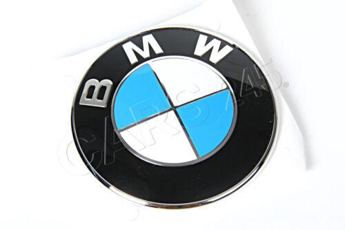 Genuine BMW E31 E53 E65 E66 E67 Z3 SUV Trunk Hood Side Emblem OEM 51141970248