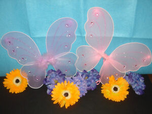 """1 piece 9/"""" Fairy Angel Butterfly Wings Infant Toddler Costume TOY GIFT HW-9"""