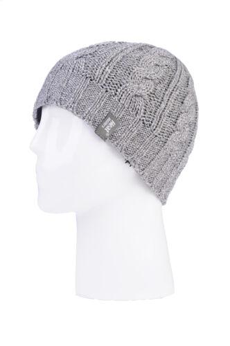 Ladies Thermal Hat Neckwarmer Fingerless converter Gloves set Heat Holders