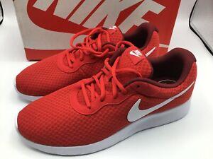 o University Nike Team de Tanjun running Tama Team 10 Red 812654 Zapatillas 5 White 616 w7R74Hqf