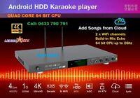 Karaoke Android 8866 5tb Hdd 32000 Vietnamese & English Songs, Wifi, Model>
