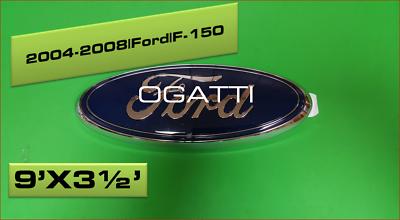 2006-2010 3D OVAL BRAND NEW OEM Ford Oval REAR TAILGATE RANGER  CL3Z-8213-D