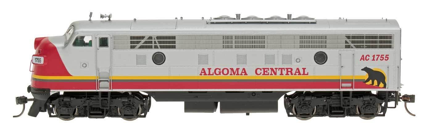Intermountain Ho 49991 (s) Algoma Central FP9 Locomotora