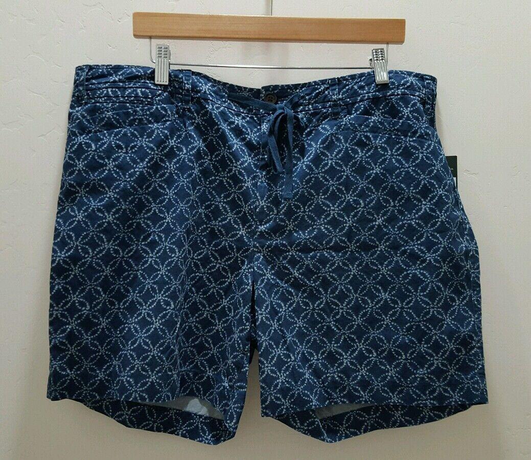 Lauren Jeans Ralph Lauren Shorts bluee White Size 16 Circle Link NWT Z7
