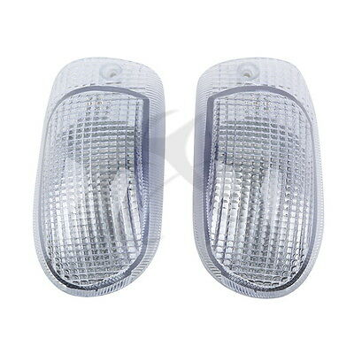 Motorcycle Clear Turn Signal Indicator For Kawasaki ZZR 1100 ZX-11 1990-1992 91
