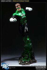 Energisch The Green Lantern 1/4 Premium Format Statue Dc Comics Sideshow SchöN In Farbe Figuren