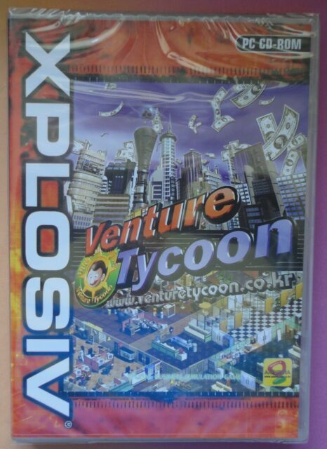 VENTURE TYCOON PC CD-ROM BUSINESS SIMULATION GAME brand new & sealed UK