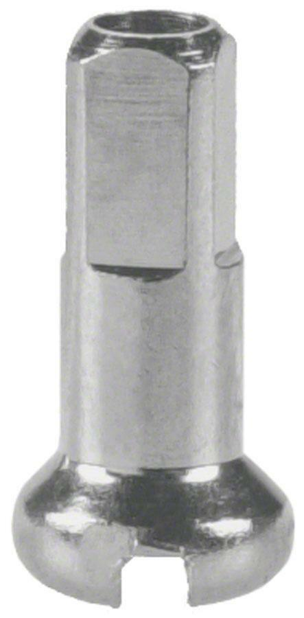 Dt Swiss 2.0 X 12mm Plata Brass Pezones, Caja De 100