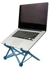 NOMAS Blue Portable Laptop Stand built with Nylon Fiberglass for Travel   Dur...