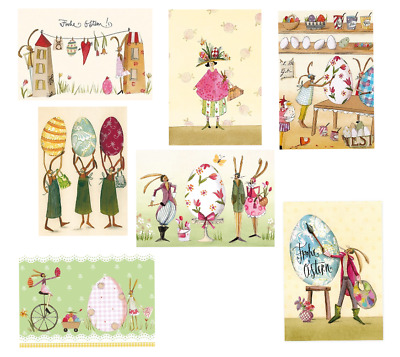 PETER GAYMANN*Cartoon*Ostern*Postkarte*Riesenei*Frohe Ostern....10 x 15*