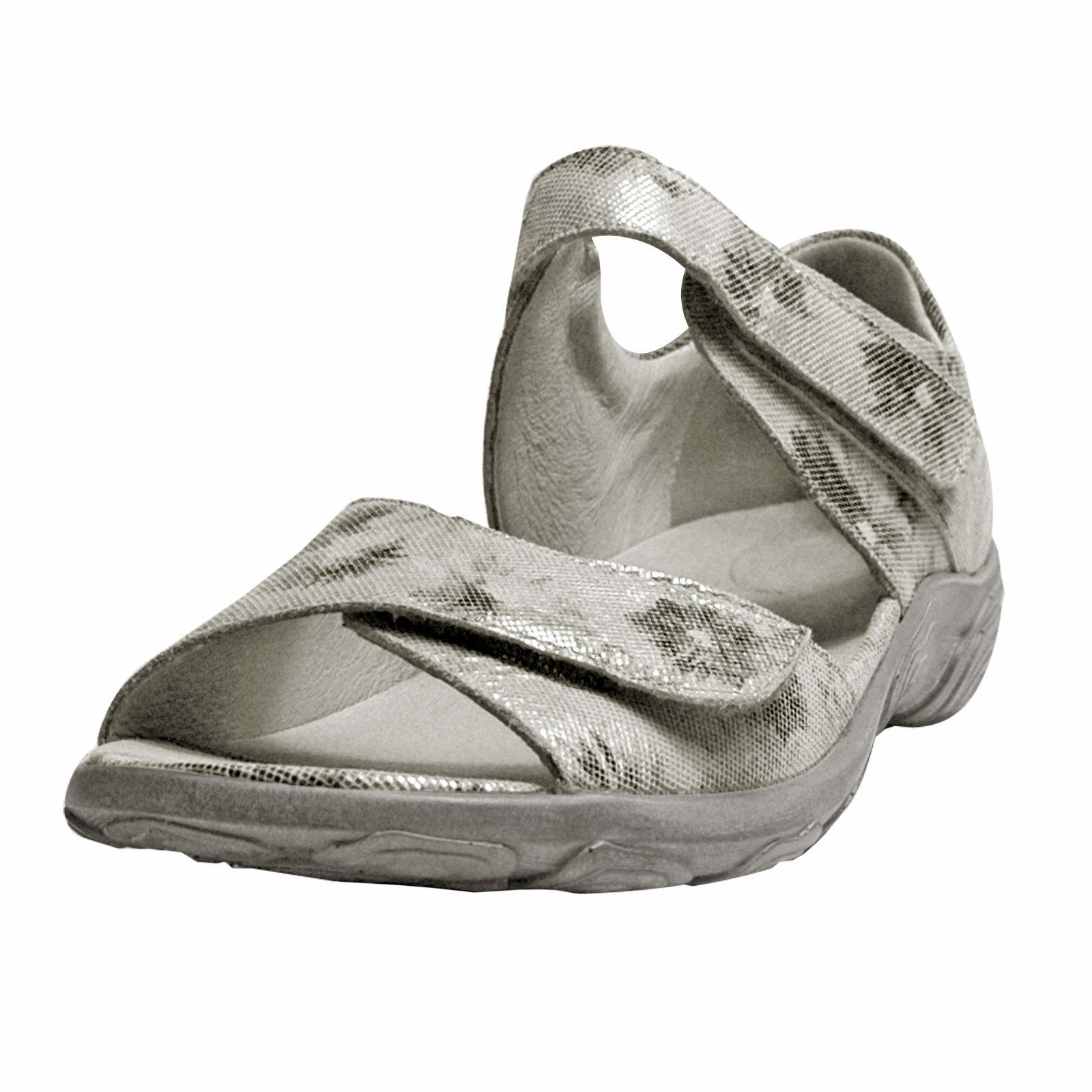 Rôdeur femmes sandales Haruna 334802168070 Monet pierre, Largeur H