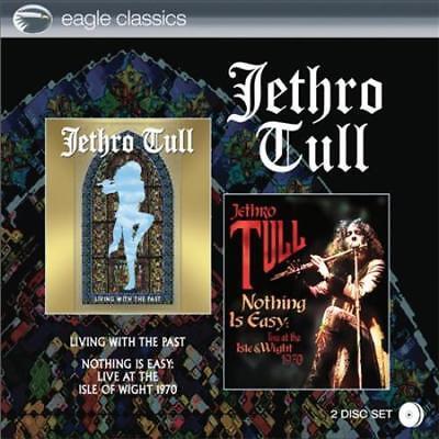 Jethro Tull-viviendo con el pasado/nada es fácil: en vivo en la isla de Wight 19 | eBay